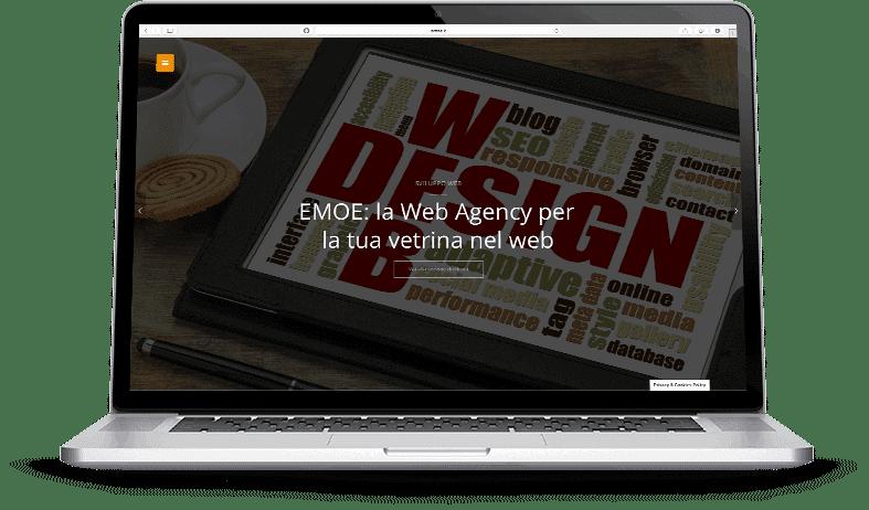 Realizzazione siti web vetrina ed e-commerce | Emoe