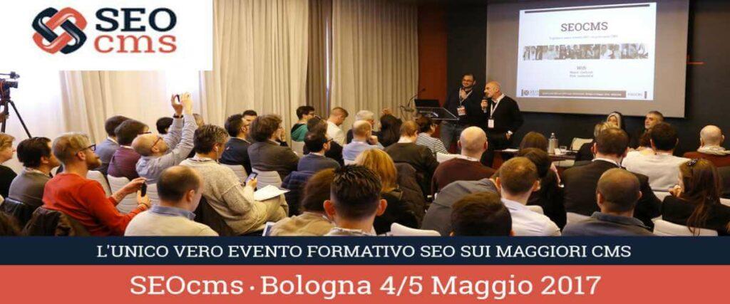 SEOcms... L'evento a Bologna da non perdere! | Emoe