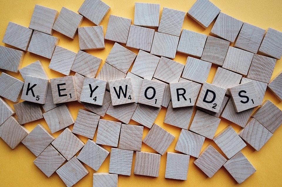 Seo per e-commerce - Parole chiave