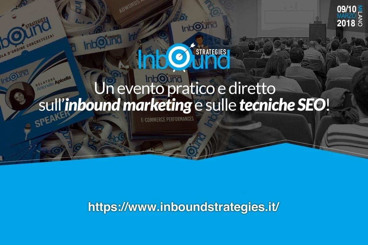 Inbound Marketing? Torna l'Inbound Strategies a Milano | Emoe
