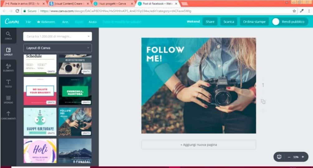 Cos'è Canva e come ottimizzare le immagini | Emoe