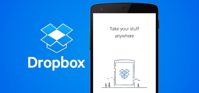 Dropbox Copertina - Screenshot