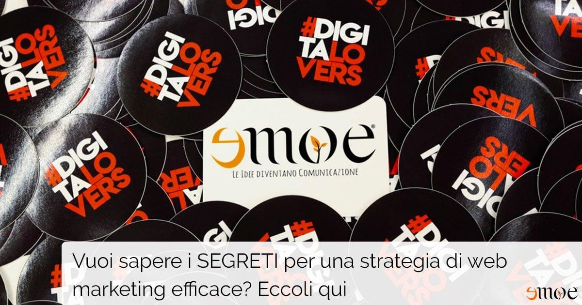 1° MeetUp DigitaLovers organizzato da Emoe | Tema principale: strategia di web marketing