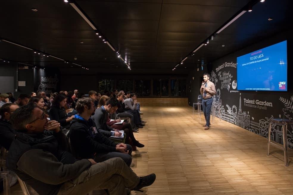 Foto dello scorso meetup | Strategia di web marketing: inizia dalle basi