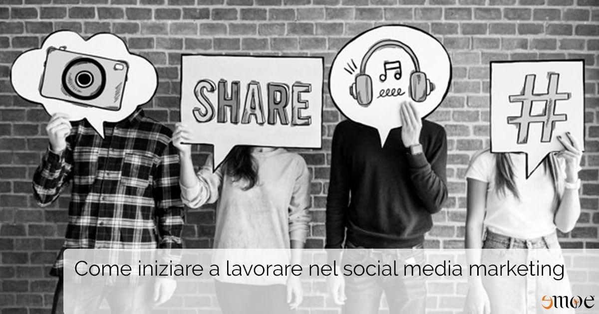 Lavorare nel social media marketing