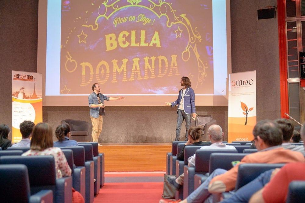 Lo show dei Bella Domanda al Turin Digital Festival