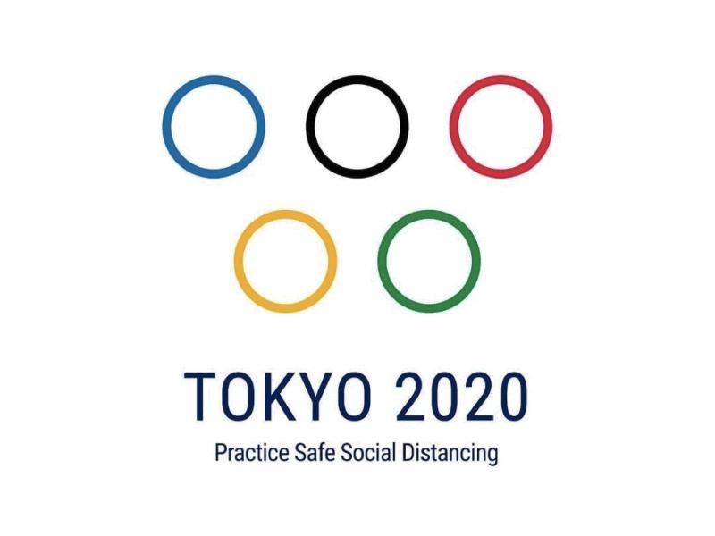 Logo Tokyo 2020 ai tempi del Coronavirus | Emoe