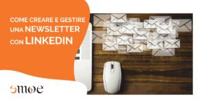 come inviare newsletter su linkedin