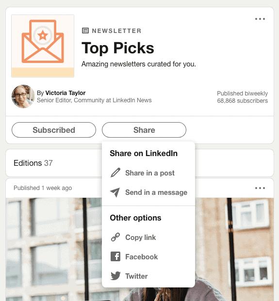 Consigli e idee per la LinkedIn Newsletter